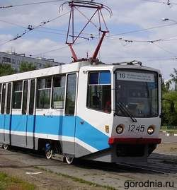 Трамвай 16 маршрута
